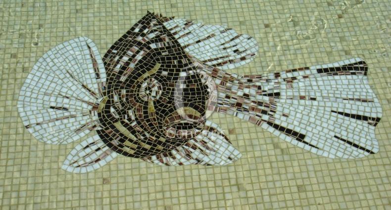 OC_décor en mosaique_poison taillé