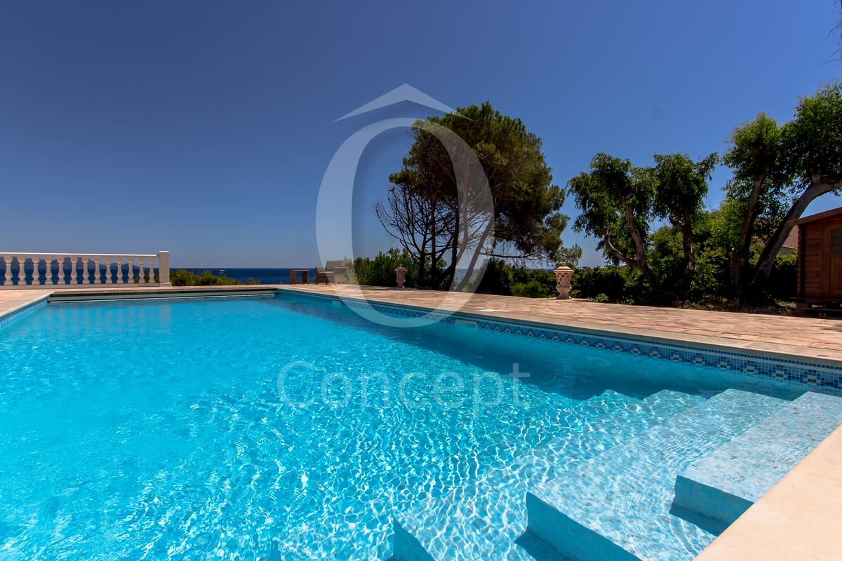 Mosaique piscine bleu clair avec la pâte de verre flammée